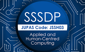 JUPAS Code JSSH03 Applied and Human Centred Computing